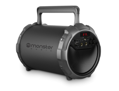 MONSTER PARLANTE BAZOOKA BIG BASS 900 BK