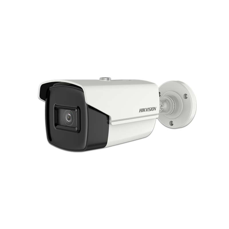 CAMARA HIK BULLET TURBO 1080P LENTE MOTORIZADO 2.7-13.5MM IP67 IR 70M METALICA