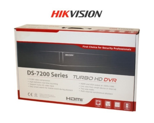 DVR TURBO HD 4 CANALES DS-7204HGHI-F1