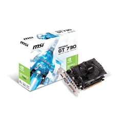 TARJETA DE VIDEO PCI EXP. MSI GT 730 2GB