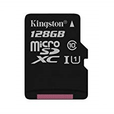 MICRO SD KINGSTON CANVAS SELECT 128GB MICROSDXC UHS-I