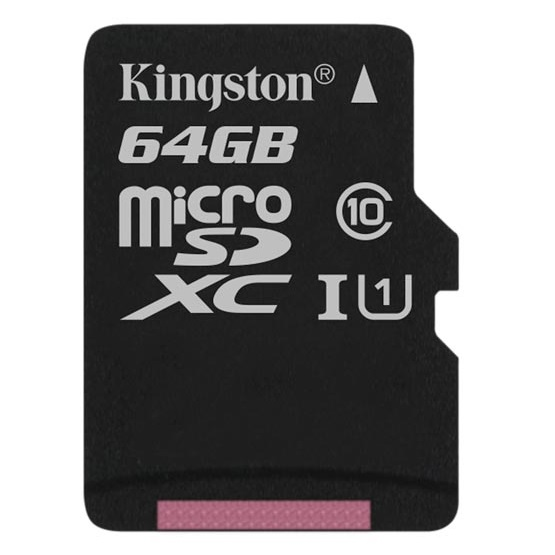 MICRO SD KINGSTON CANVAS SELECT 64GB MICROSDXC UHS-I